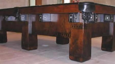 Restored Alexandria, pool table orginally by Brunswick