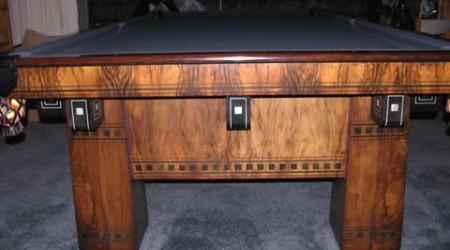 Antique restored billiard table, The Alexandria
