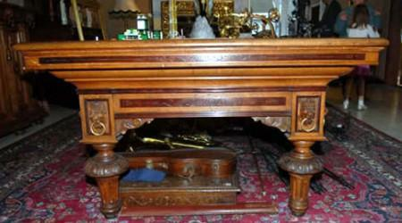 The European II, antique billiard table