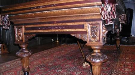 Antique billiards table, European II