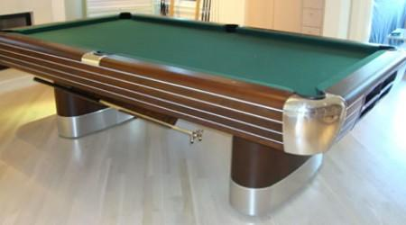 Restored, antique pool table The Anniversary
