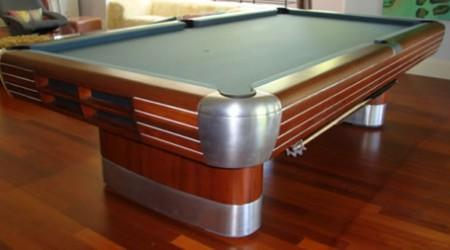 Brunswick Anniversary, fully-restored antique billiards table