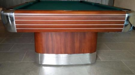 Post restoration: The Anniversary billiards table