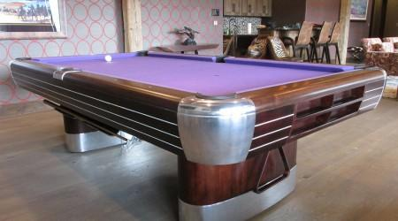 Professionally restored antique: The Anniversary billiards table