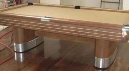 The Anniversary, a fully restored antique pool table