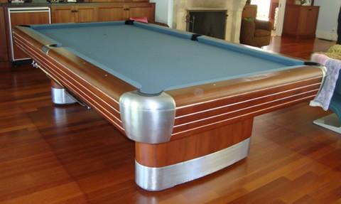 ... Restored Antique Pool Table, The Brunswick Anniversary ...