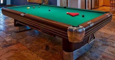 Brunswick Balke Collender Cos The Anniversary Billiard Pool Table - Pool table identification