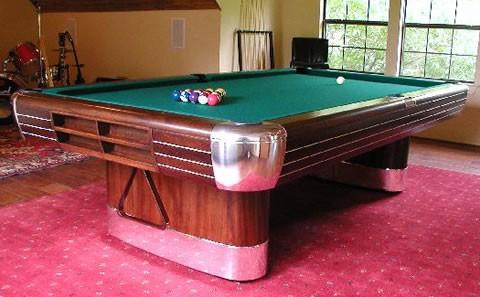 Brunswick Balke Collender Cos The Anniversary Billiard Pool Table - Brunswick anniversary pool table for sale