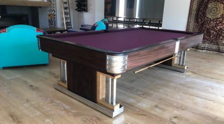 Fully restored Exposition billiards table