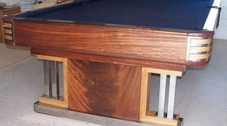Antique billiards table The Exposition, fully restored