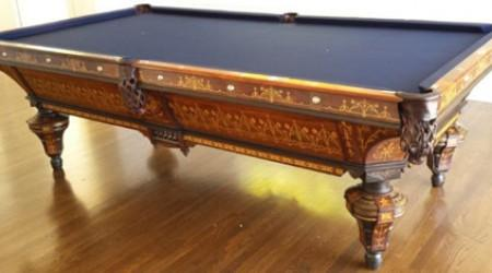 Billiards Restoration's fully restored antique The Exposition Novelty