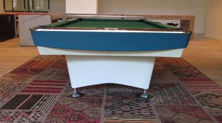 Gold Crown I billiards table, restored antique