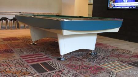 Restoration of antique Gold Crown I billiards table