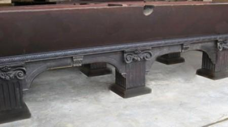 Another Goodman-Leavitt-Yatter billiard table before restoration