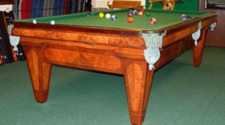 Fully restored The Grand antique pool table