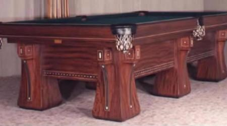 Restored Arcade pool table