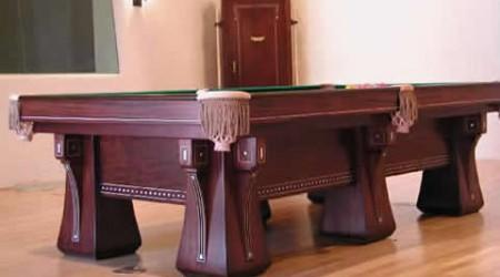 Fully restored Arcade antique billiard table