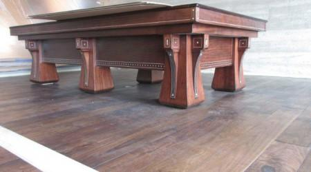 Post restoration: The Arcade pool table