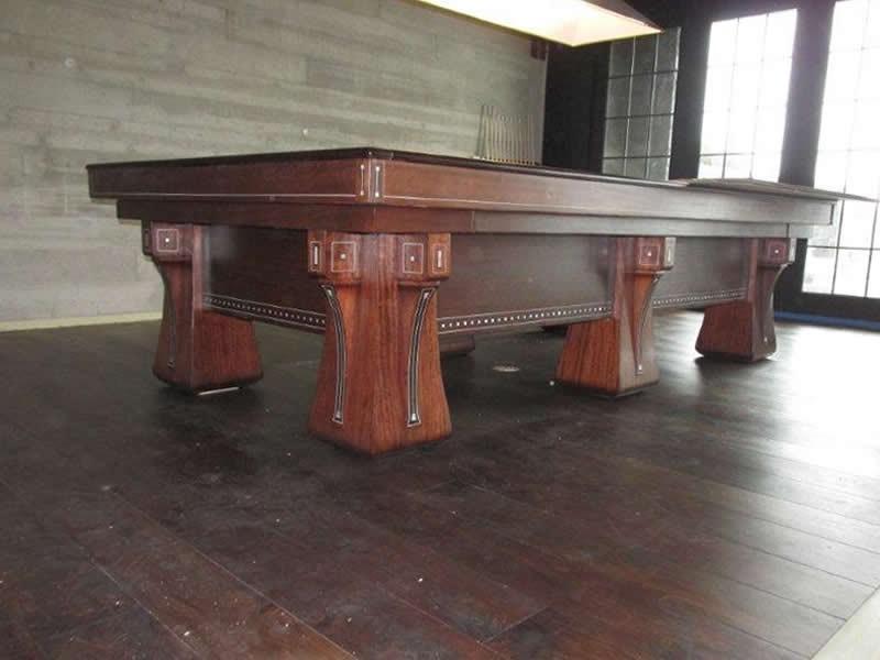 The Arcade Antique Billiard Table Billiard Restoration