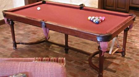 Restored Home Club billiards table