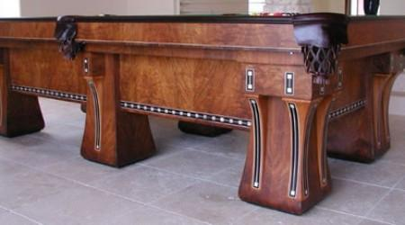 Superb ... Antique Billiards Table, The Hudson, Fully Restored ...