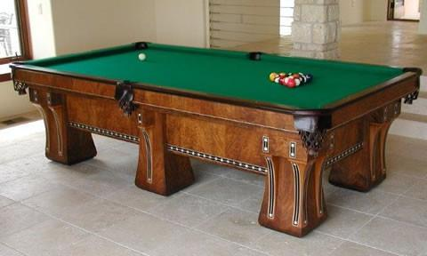 The Hudson, Restored Antique Billiards Table ...