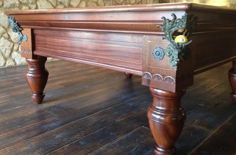 ... Restored Antique The Italian Pool Table ...