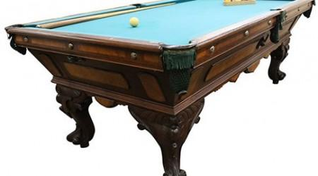 The August Jungblut California Antique Billiard Table