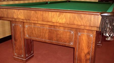 Jefferson II restored antique billiard table