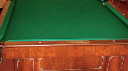 Restored Jefferson antique pool table