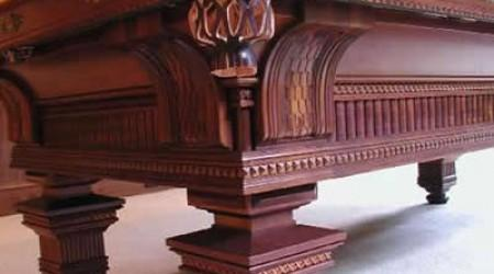 Mahogany Version: Restored Jewel, an antique pool table