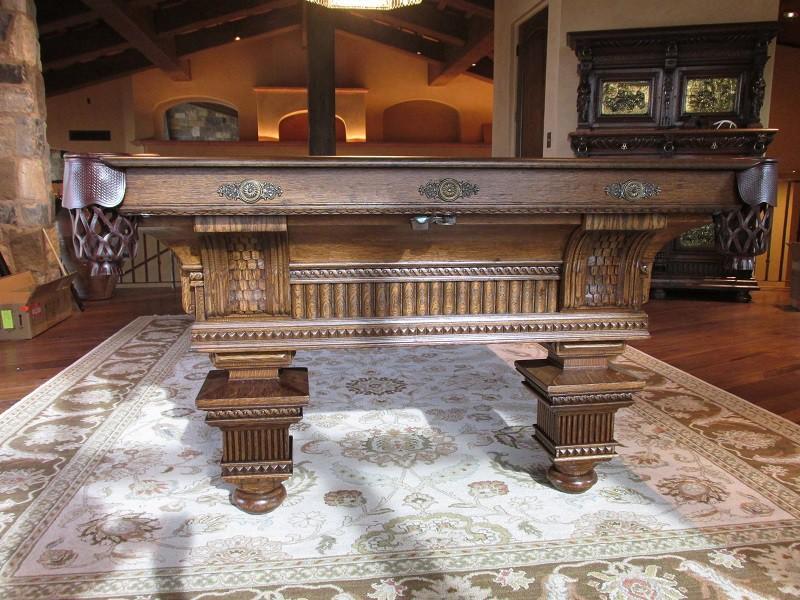 The Jewel Brunswick Pool Table Billiard Restoration Service