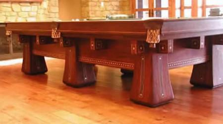 Antique billiards table, The Kling
