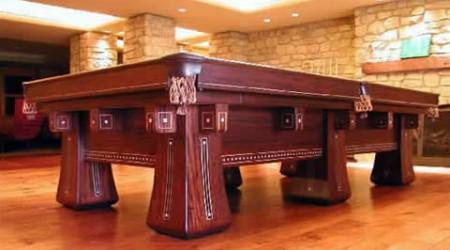 The Kling, pool table restored