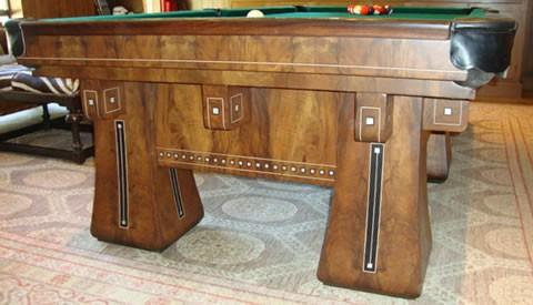 The Kling, antique billiard/pool table (restored) by Brunswick