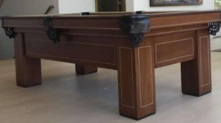 The Madison, a fully restored antique billiard table