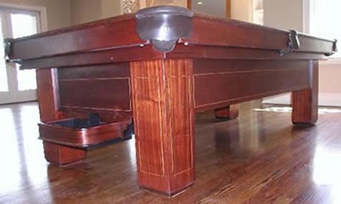 The Madison, Antique Billiards Table Prior To Restoration ...