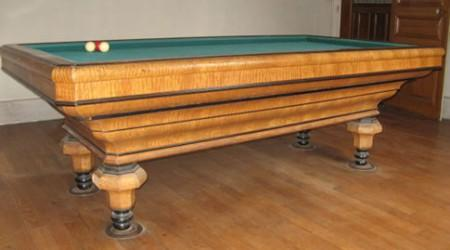 The Maillard, antique billiards table, fully restored