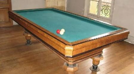 Fully restored The Maillard, antique billiards table