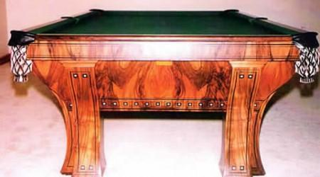 The Marquette, Antique Billiards Table