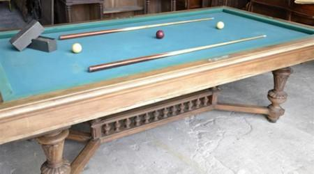 Marseille billiards table, antique