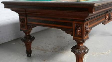 Rail of Maurice Van de Kerkhov billiard table