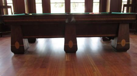 Billiards Restoration: The Medalist antique pool table
