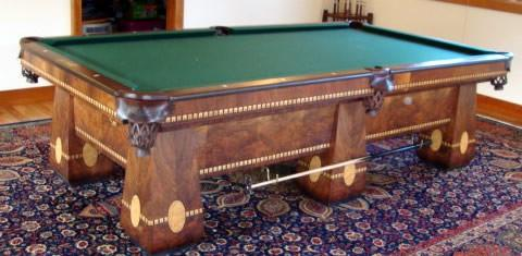 The Medalist A Brunswick Antique Billiard Table