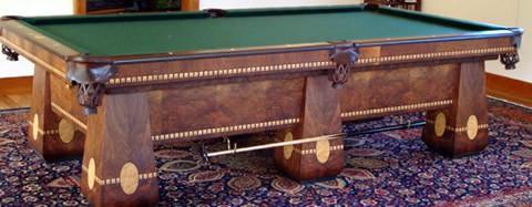 The Medalist A Brunswick Antique Billiard Table