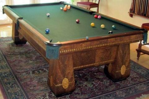 823261d74543 Restored Medalist billiards table