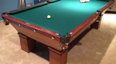 Restoration of Mikado billiards table