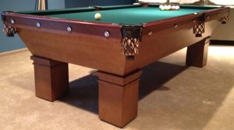 mikado billiard table leg restored antique mikado pool table
