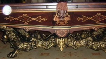 The Monarch, a billiards table, fully restored