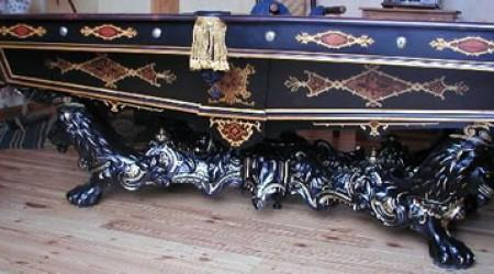 Antique billiards table, The Monarch